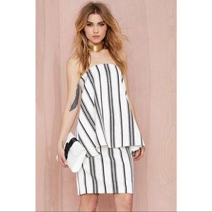 NEW Cameo Women's Rather Be Dress Strapless Dress